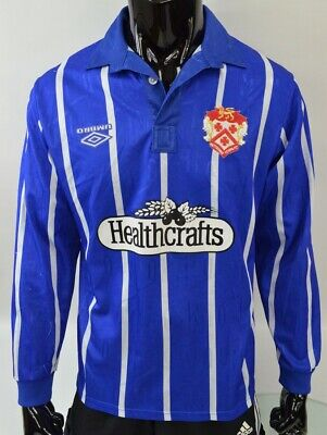 1993-94 Umbro Kettering Town Away Long Sleeve Shirt SIZE M (adults) image