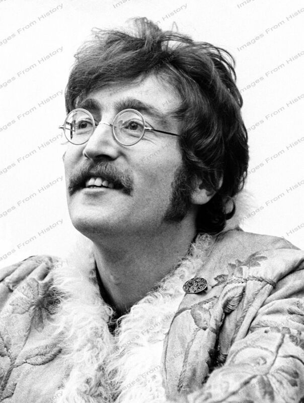 8x10 Print John Lennon Beatles #BEAT1