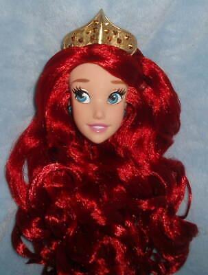Little Mermaid Crown (Disney The LITTLE MERMAID Princess ARIEL Wedding CROWN TIARA for 17