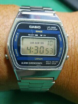 Casio A852 Module 108 Very Rare Digit Vintage Watch Working Full