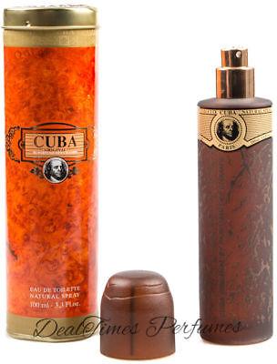 Cuba Gold Cologne for Men 3.3 / 3.4 oz EDT Spray New