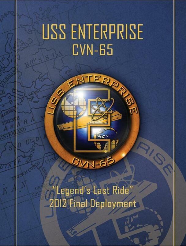 USS Enterprise (CVN-65) 2012 Final Deployment Cruisebook
