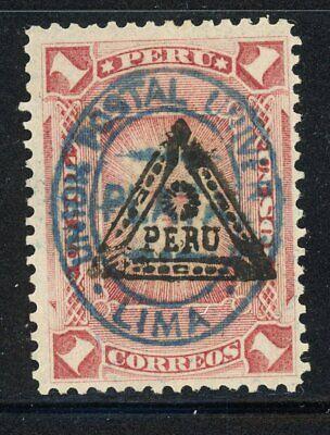 Peru- Scott 85 MH