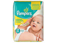 230 Pampers New Baby Size 2 nappies