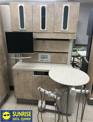 Adec 5580 Dental Rear Treatment Console W Duo Delivery Assistant Package