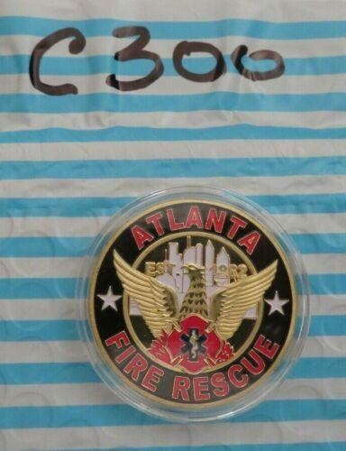 ATLANTA FIRE RESCUE FIRE DEPARTMEMT CHALLENGE COIN C300