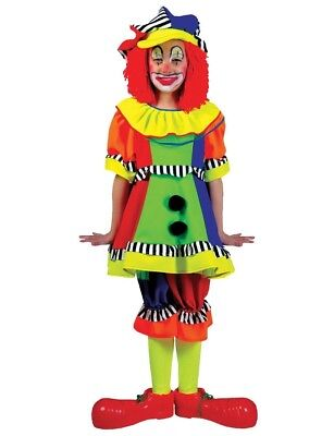 Spanky Stripes Clown Child Costume Funny Fashion 60627 Theme - Spanky Stripes Clown Kostüm