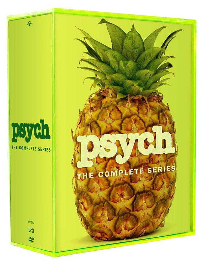 Купить PSYCH: THE COMPLETE SERIES SEASONS 1-8 DVD SEASON 1 2 3 4 5 6 7 8 NEW SET