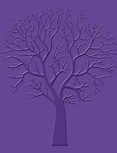 Prägefolder Embossing-Schablone sycamore Baum Prägeschablone 14,5x10,5cm