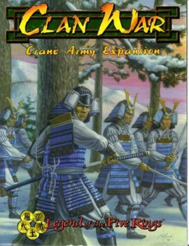 L5R Clan War Crane Army Expansion Book - 12-006-1 - 1998 - Wizards of the Coast