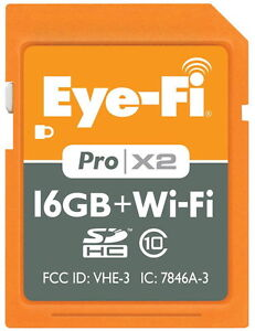 EYE-FI-SD-CARD-16GB-PRO-X2-RAW-UPLOAD-CLASS-10-GEOTAGGING-PHOTO-VIDEO