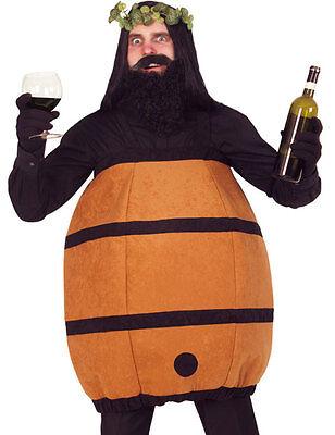 Weingott Fässchen Kostüm für Herren NEU - Herren Karneval Fasching Verkleidung - Gott Kostüm Für Herren