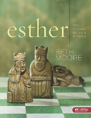 Beth Moore Esther It's Tough Being a Woman Bible Study Christian DVD set