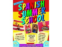 Childrens Spanish Summer School!