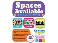 ⭐Burlington Road OSC have spaces available⭐