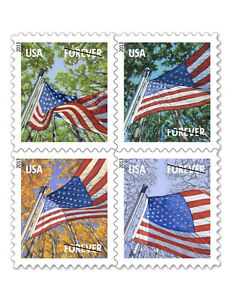 USPS-New-A-Flag-for-All-Seasons-Forever-Stamp-Booklet-of-10