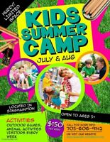Summer Camp - daily or weekly rates