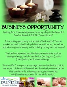 Want to run your own Spa Business? Check out this Opportunity!