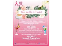 Tea with a twist event
