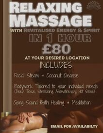 Healing Energy Massage
