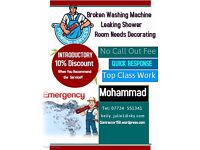 Mohammad Reza -Manchester - For all your Plumbing, Tiling & Decorating Needs