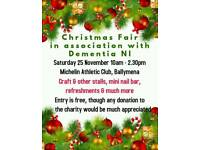 Ballymena Christmas Fair with Dementia NI