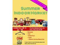 Summer Indoor Makert - Bazaar of crafts/homewares/clothes/food/Henna and so much more