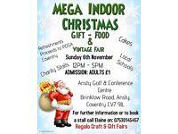 Mega Indoor Christmas Gift - Food & Vintage Fair