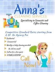 PROFESSIONAL AND RELIABLE HOUSEKEEPER/CLEANER WITH DBS CHECK AND REFERENCES