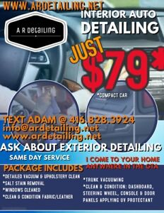 Mobile detailing $79