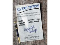 Cheap Private Tuition   1st Lesson FREE   Maths   Science   English   One to One   GCSE   Stratford