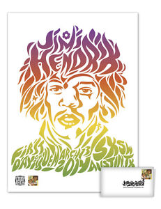 USPS New Jimi Hendrix Poster and First Day Cover Set