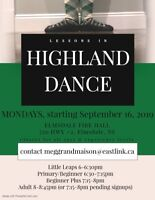 ELMSDALE - Highland dance classes in your neighbourhood!