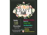 Craft Fair - Book a pitch - show off your wares