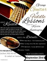 Guitar and Fiddle Lessons
