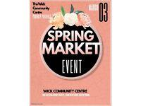 Spring market SS12 9NR. 01268 572727