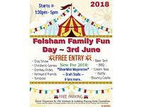 Felsham Family Fun Day on Sunday 3rd June 2018. Satnav IP300PP