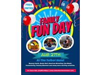 Family Fun Day at the Talbot Hotel
