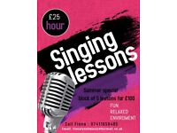 Singing lessons in Falkirk