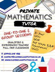 Experienced Maths Teacher Tutor - Personal Tuition   KS2-4   11+   GCSE   SATs   Functional Skills