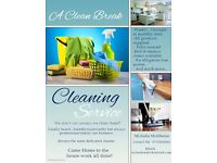 A Clean Break , home cleaning services