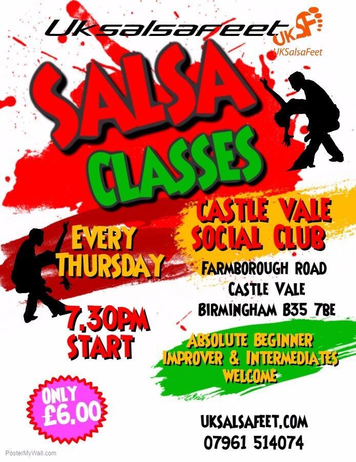 Castle Vale Salsa Classes On Thursday