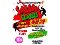 Castle Vale Salsa Classes On Thursday