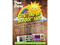 Kid's End of school fair