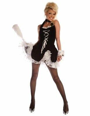 Magd Reizen Teen Größe Kostüm Minikleid Petticoat Handgelenk - Reisen Kostüm