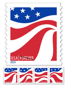usps new red white and blue forever stamp roll of 10 000. Black Bedroom Furniture Sets. Home Design Ideas