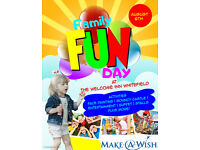 Family Fun Day For Make A Wish At The Welcome Inn Whitefeild 6th Aug 2017 free entry