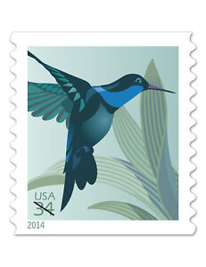 USPS-New-34-cent-Hummingbird-Stamp-Coil-of-100