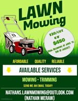 Lawn Mowing in Pickering