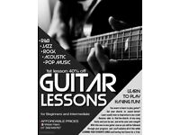 GUITAR LESSONS ! ! !